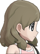 Pokemon Sun Hairstyle Girl Medium Wavy Sideswept Ash Brown (side)