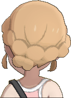 Pokemon Sun Hairstyle Girl Romantic Tuck Sideswept Caramel Blond (back)