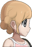 Pokemon Sun Hairstyle Girl Romantic Tuck Sideswept Caramel Blond (side)